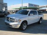 2011 Bright White Dodge Ram 1500 Laramie Crew Cab #44088399
