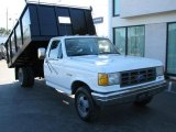 1990 Ford F350 XL Regular Cab Chassis Dump Truck Data, Info and Specs