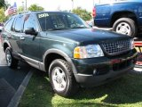 2003 Aspen Green Metallic Ford Explorer XLT #44089242