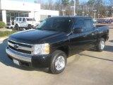 2007 Black Chevrolet Silverado 1500 Crew Cab #44088421