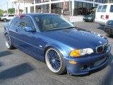 2000 Topaz Blue Metallic BMW 3 Series 328i Coupe #44089265