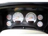 2002 Dodge Ram 1500 Sport Quad Cab 4x4 Gauges