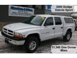 2000 Dodge Dakota Sport Crew Cab 4x4 Data, Info and Specs