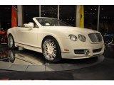 2007 Bentley Continental GTC Glacier White