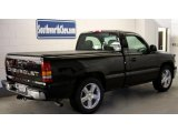 2002 Onyx Black Chevrolet Silverado 1500 LS Regular Cab #44088572