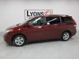 2011 Salsa Red Pearl Toyota Sienna LE #44202796