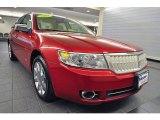 2008 Vivid Red Metallic Lincoln MKZ AWD Sedan #44203477