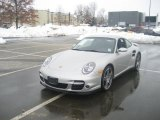 2008 Arctic Silver Metallic Porsche 911 Turbo Coupe #44204398