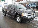 2010 Black Granite Metallic Chevrolet Silverado 1500 LT Extended Cab 4x4 #44203923