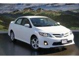 2011 Super White Toyota Corolla S #44203095