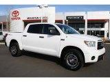 2010 Super White Toyota Tundra TRD Rock Warrior CrewMax 4x4 #44203108