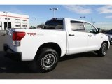 Super White Toyota Tundra in 2010