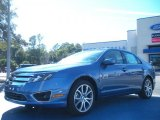 2010 Sport Blue Metallic Ford Fusion SE #44203641