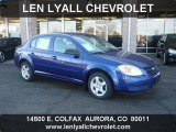 2007 Laser Blue Metallic Chevrolet Cobalt LS Sedan #44203689