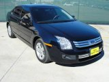 2008 Dark Blue Ink Metallic Ford Fusion SE #44203963