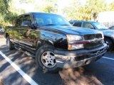 2003 Black Chevrolet Silverado 1500 Extended Cab #44203157