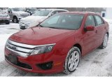 2011 Red Candy Metallic Ford Fusion SE V6 #44204550