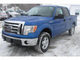 2011 Blue Flame Metallic Ford F150 XLT SuperCrew 4x4 #44204553