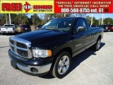 2004 Black Dodge Ram 1500 SLT Regular Cab #44204569