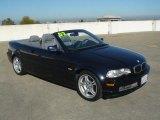 2002 Black Sapphire Metallic BMW 3 Series 330i Convertible #44203224