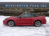 2002 Laser Red Metallic Ford Mustang GT Convertible #44204093