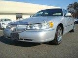 2000 Silver Frost Metallic Lincoln Town Car Cartier #44203276