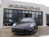 2008 Basalt Black Metallic Porsche 911 Turbo Cabriolet #44204920