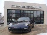 2008 Midnight Blue Metallic Porsche 911 Turbo Cabriolet #44204921