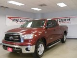 2010 Salsa Red Pearl Toyota Tundra Double Cab #44204933