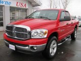 2007 Flame Red Dodge Ram 1500 ST Quad Cab 4x4 #44204940