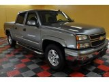 2006 Graystone Metallic Chevrolet Silverado 1500 LT Crew Cab 4x4 #44204250