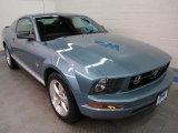 2007 Windveil Blue Metallic Ford Mustang V6 Deluxe Coupe #44204286