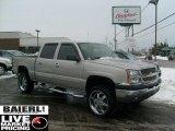 2005 Silver Birch Metallic Chevrolet Silverado 1500 LS Crew Cab #44315421