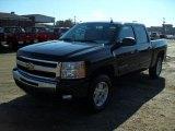 2011 Black Chevrolet Silverado 1500 LT Crew Cab #44316624