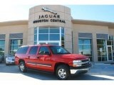 2001 Victory Red Chevrolet Suburban 1500 LT #44316655
