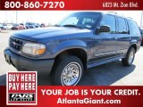 2001 Medium Wedgewood Blue Metallic Ford Explorer XLS #44316987
