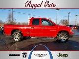 2003 Flame Red Dodge Ram 1500 SLT Quad Cab 4x4 #44315523