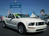 2005 Performance White Ford Mustang GT Premium Coupe #442120
