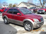 2004 Kia Sorento Ruby Red Metallic