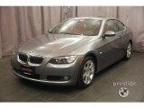 2008 Space Grey Metallic BMW 3 Series 328xi Coupe #4423541