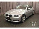 2008 Titanium Silver Metallic BMW 3 Series 328xi Coupe #4423544