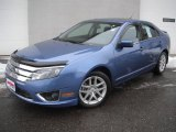 2010 Sport Blue Metallic Ford Fusion SEL V6 #44394538