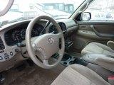 2005 Toyota Tundra SR5 Double Cab 4x4 Taupe Interior