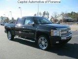 2011 Black Chevrolet Silverado 1500 LT Crew Cab #44395560
