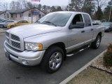 2004 Bright Silver Metallic Dodge Ram 1500 Laramie Quad Cab 4x4 #44451586