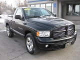 2004 Black Dodge Ram 1500 SLT Regular Cab #44451455