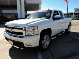 2008 Summit White Chevrolet Silverado 1500 LT Extended Cab #44451497