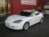 2008 Captiva White Hyundai Tiburon GT #44451504