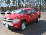 2011 Victory Red Chevrolet Silverado 1500 LT Crew Cab 4x4 #44451809