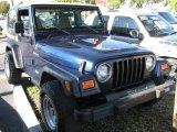 1991 Jeep Wrangler Midnight Blue Metallic